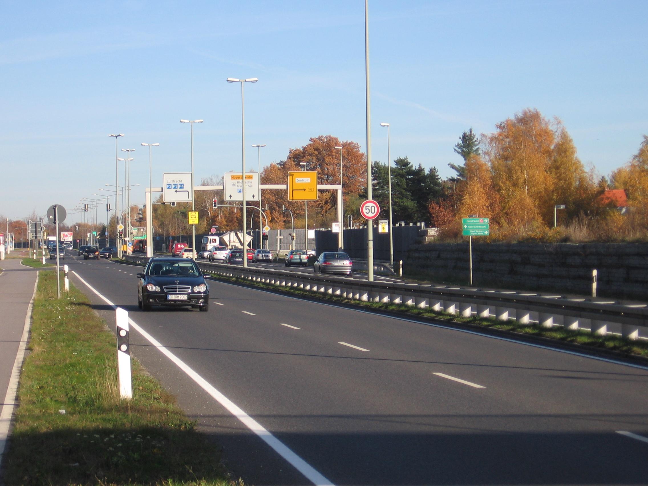 Verkehrsanlage B97